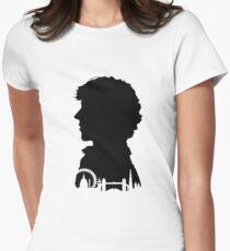 Sherlock Portrait Women's Fitted T-Shirt