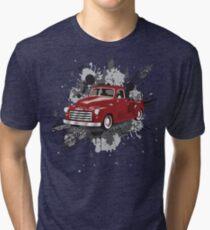1949 GMC Classic Truck Tri-blend T-Shirt