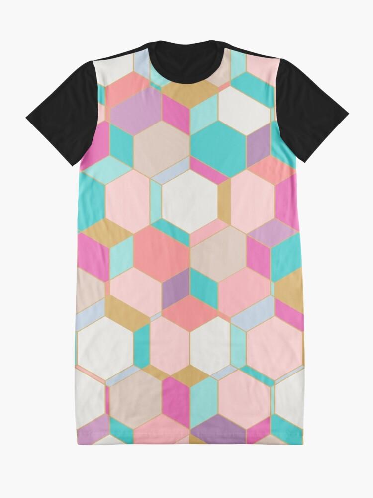 Alternate view of HEX2 Graphic T-Shirt Dress