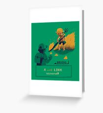 the wild link Greeting Card