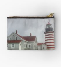 West Quoddy Head Lighthouse Studio Pouch