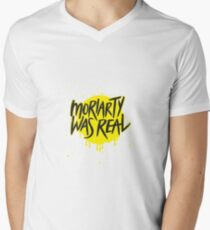 Moriarty Was Real. Men's V-Neck T-Shirt