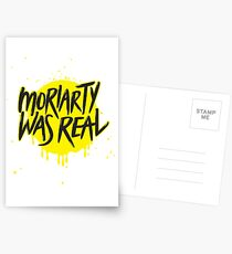 Moriarty Was Real. Postcards