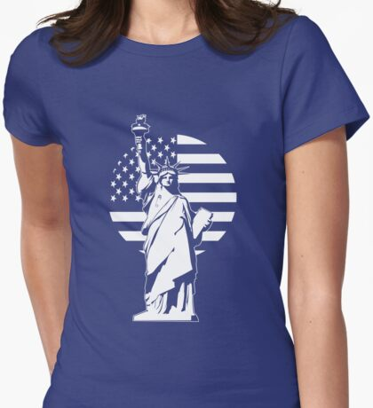 Lady Liberty Safety Pin T-Shirt