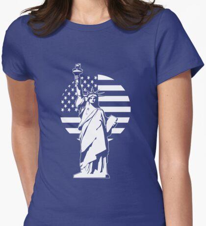 Lady Liberty Safety Pin T-Shirt