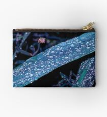 Raindrops in HDR Studio Pouch