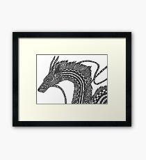Haku - Spirited Away Framed Print
