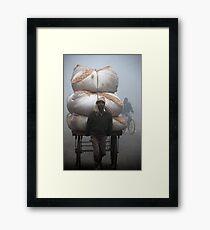 Foggy Load Framed Print