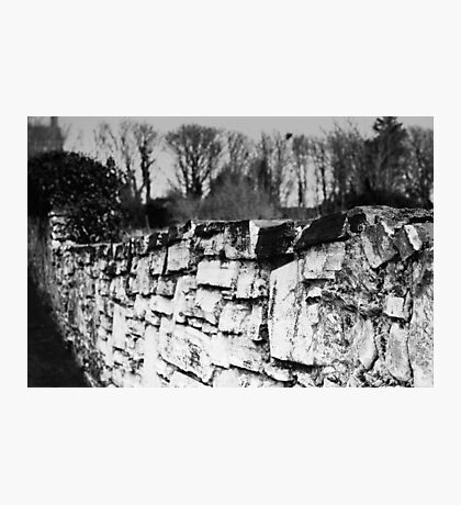 Old stone wall Photographic Print
