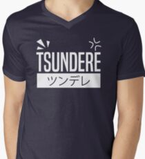 Tsundere Men's V-Neck T-Shirt