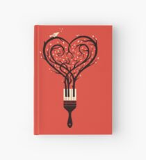 Paint your love song Hardcover Journal