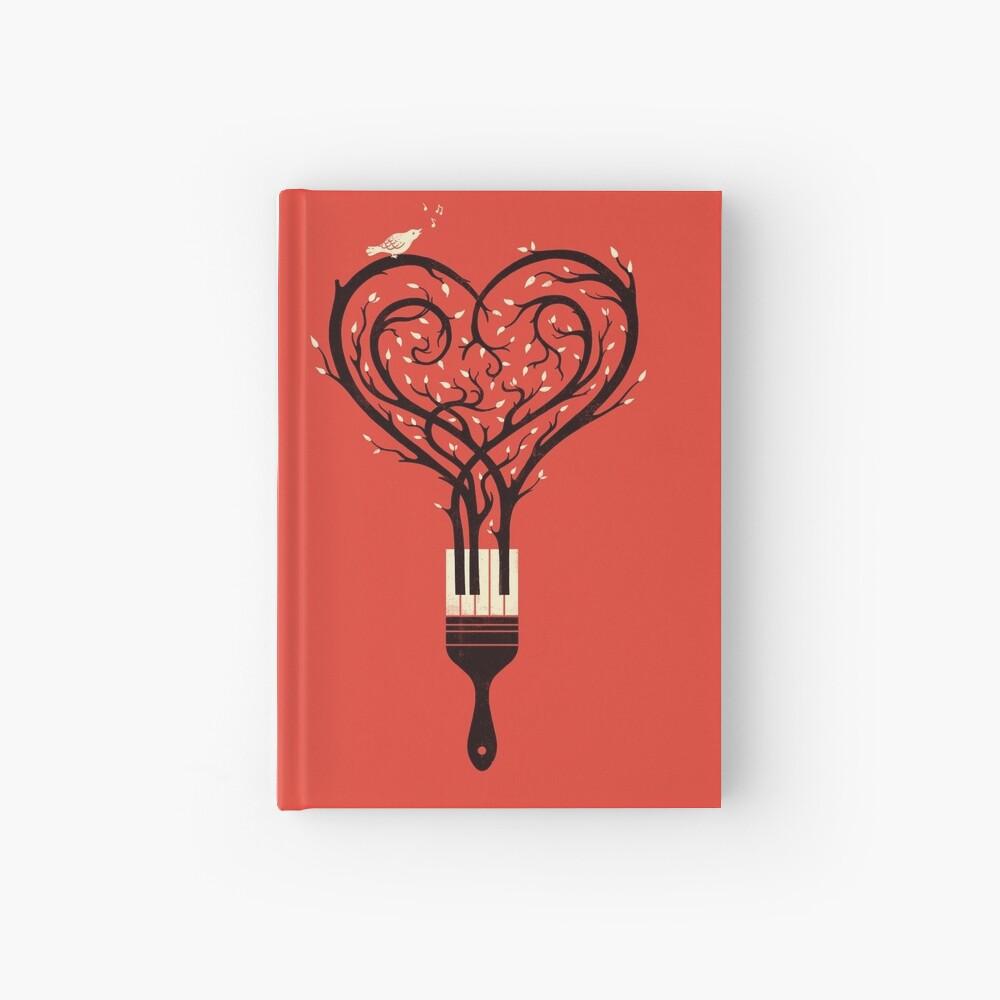 Male dein Liebeslied Notizbuch