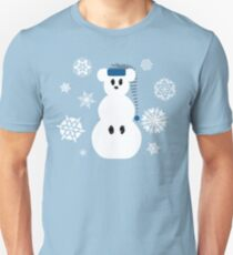 White Christmas Mouse T-Shirt