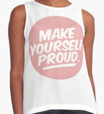 Make Yourself Proud Contrast Tank