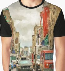 On you Mark - Painted Graphic T-Shirt