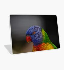 Rainbow Lorikeet portrait Laptop Skin