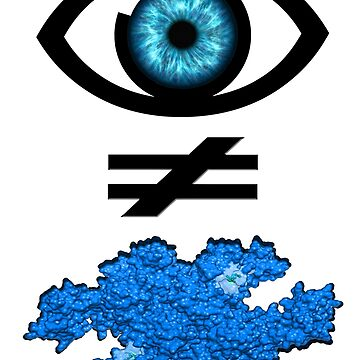 Blue enzyme science by SaviDesigns