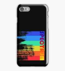 Faded retro pop spectrum colors iPhone Case/Skin