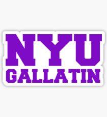 Pegatina NYU Gallatin
