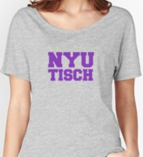 Camiseta ancha para mujer NYU Tisch