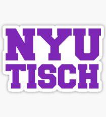 NYU Tisch Sticker