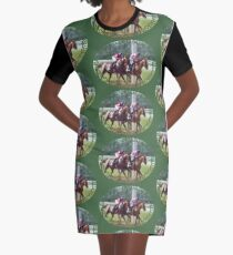 The Duel Graphic T-Shirt Dress