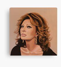 Sophia Loren Glamour Painting Canvas Print