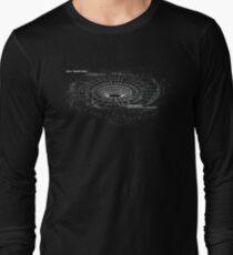 Infographic - Black Hole Long Sleeve T-Shirt
