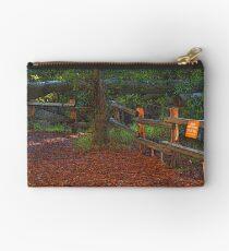 Wooded Shade Area in Tilden Park, Berkeley, California Studio Pouch