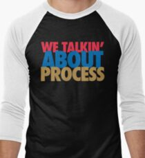 We Talkin' About Process?! (Red/Blue/Gold) T-Shirt