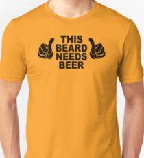 Beard t shirt funny t shirt beer tshirt cool shirt mens tshirt austin texas (also available on crewneck sweatshirts and hoodies) SM-5XL T-Shirt