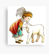 Prince Richard and his New Friend Canvas Print