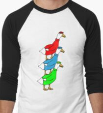 Another Quality Duck Stack- without words! Men's Baseball ¾ T-Shirt