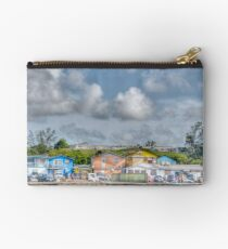 Fort Charlotte view from Arawak Cay in Nassau, The Bahamas Studio Pouch