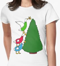 Tree Toppers Women's Fitted T-Shirt