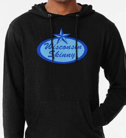 Wisconsin Skinny Blue Logo Lightweight Hoodie