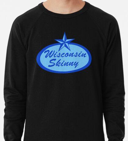 Wisconsin Skinny Blue Logo Lightweight Sweatshirt
