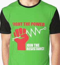 Fight the power - Join the RESISTANCE Graphic T-Shirt