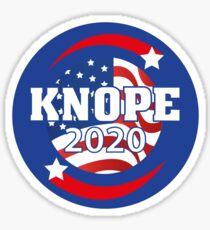 Pegatina Leslie Knope para presidente