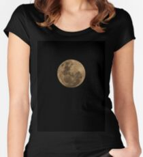 Super Moon Women's Fitted Scoop T-Shirt