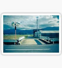 Bridge over Irrigation Canal Sticker
