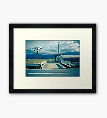 Bridge over Irrigation Canal Framed Print
