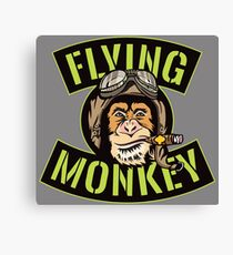 Flying Monkey Beer Canvas Print