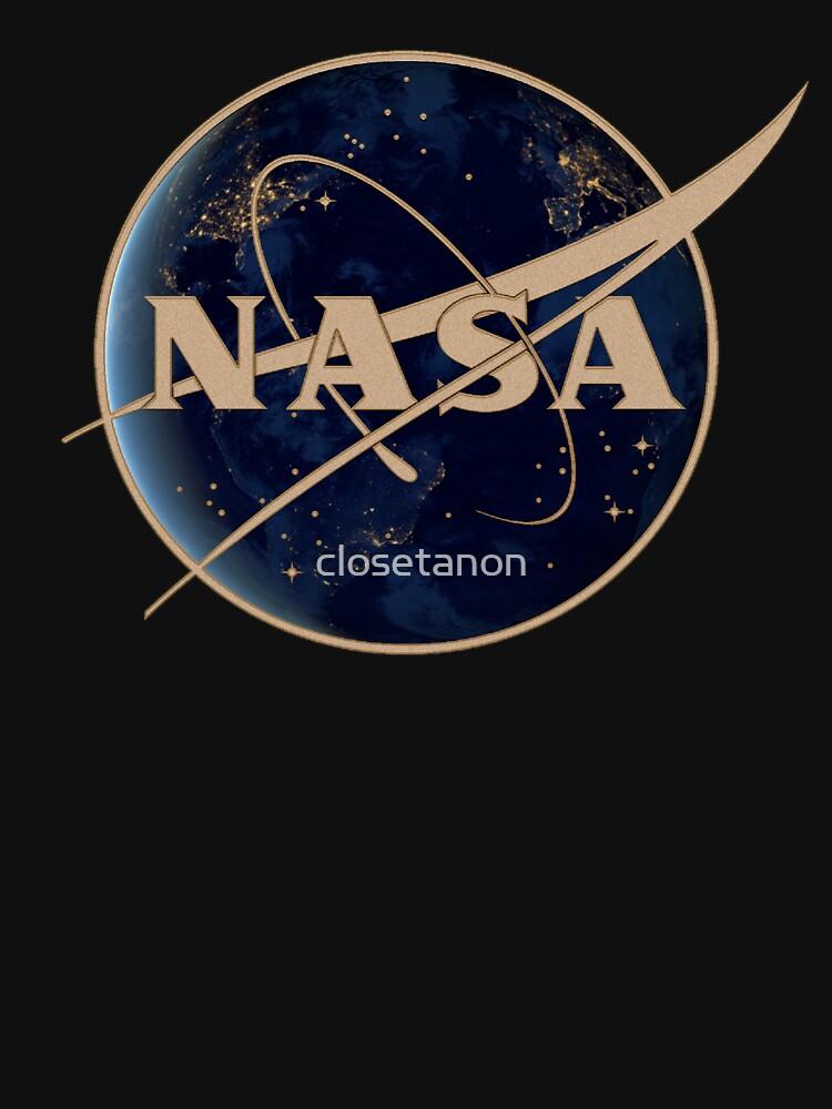 NASA at Night by closetanon