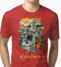 the Sandman house morpheus dream   Tri-blend T-Shirt
