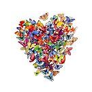 «corazón de mariposa» de Audrey Metcalf