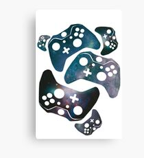 Galaxy XBOX Canvas Print