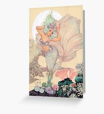Frozen Mermaid Greeting Card
