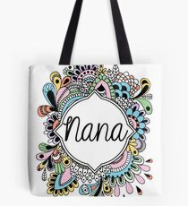 Custom Nana Design Tote Bag