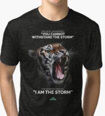 I AM THE STORM! Tri-blend T-Shirt